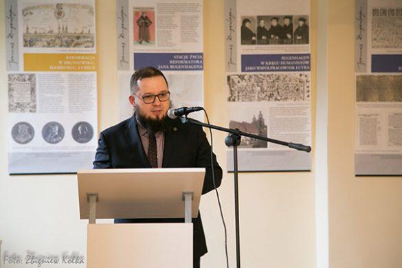 Otwarcie wystawy o Janie Bugenhagenie<br />w&nbsp;Kaszubskim Forum Kultury w&nbsp;Gdyni<br />26&nbsp;kwietnia 2017 r.