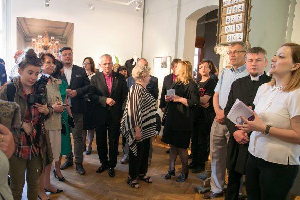 """Otwarcie wystawy """"Z dziejów wspólnoty ewangelickiej w Sopocie"""" w Muzeum Sopotu"""